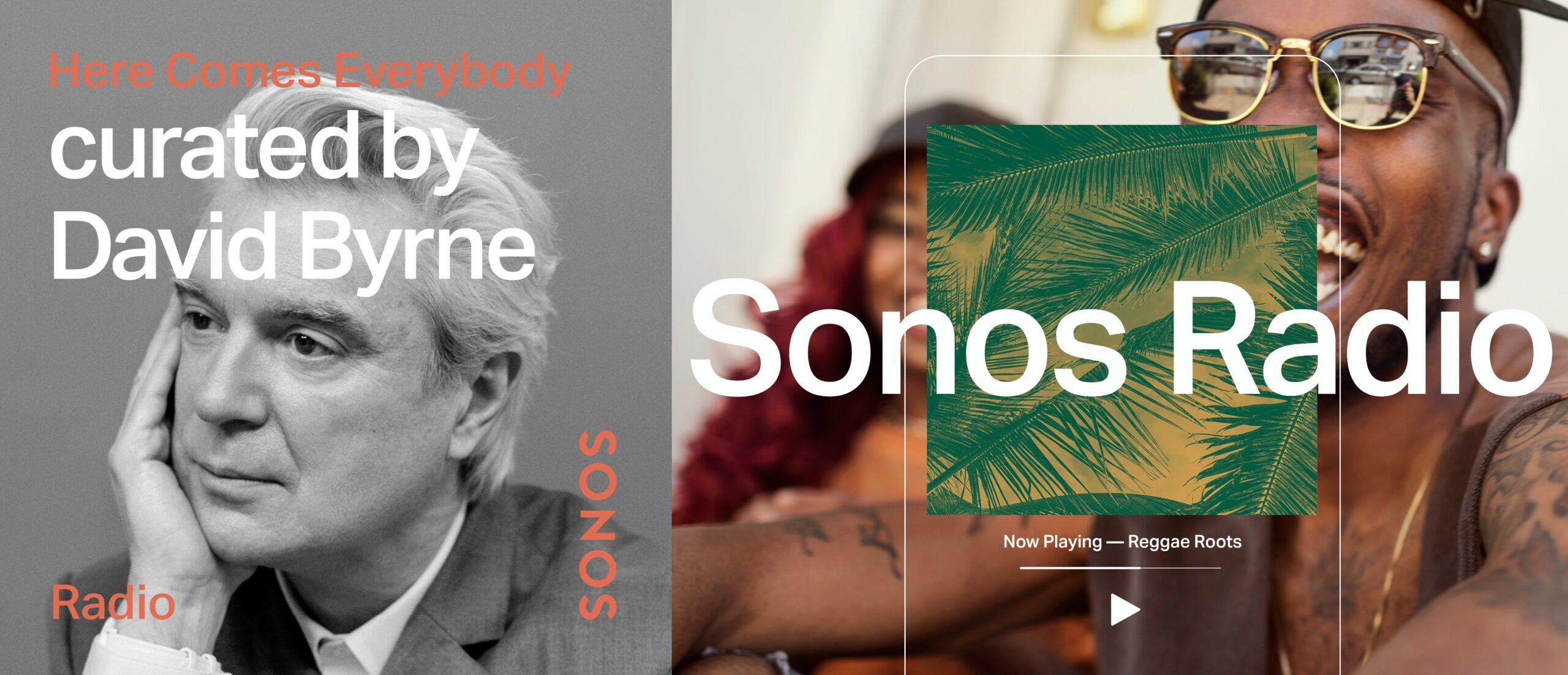 Sonos Radio with Reggae and David Byrne