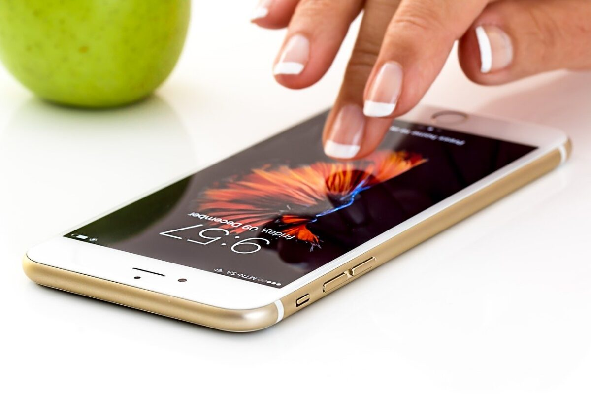 iPhone with Touch ID