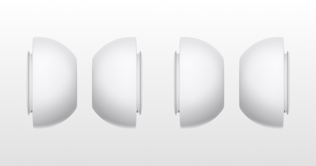 Image of AirPods Pro replacement tips.