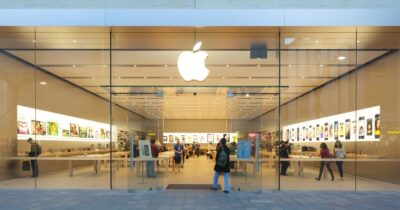 Photo of an apple retail store