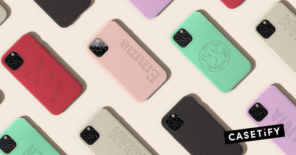 Get Eco-Friendly Phone Cases With Casetify Conscious Collection