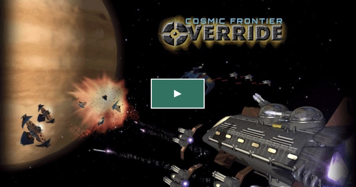 'Cosmic Frontier: Override' is a Remake of 1998 Game 'Escape Velocity'