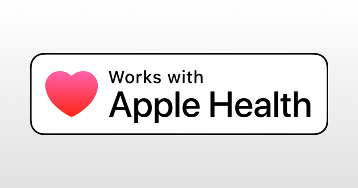 Works with apple health badge