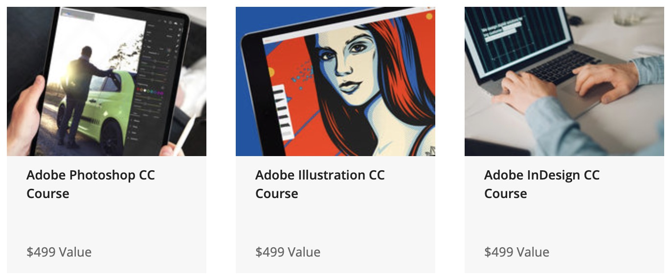 The 2020 Adobe Graphic Design Certification School: $49