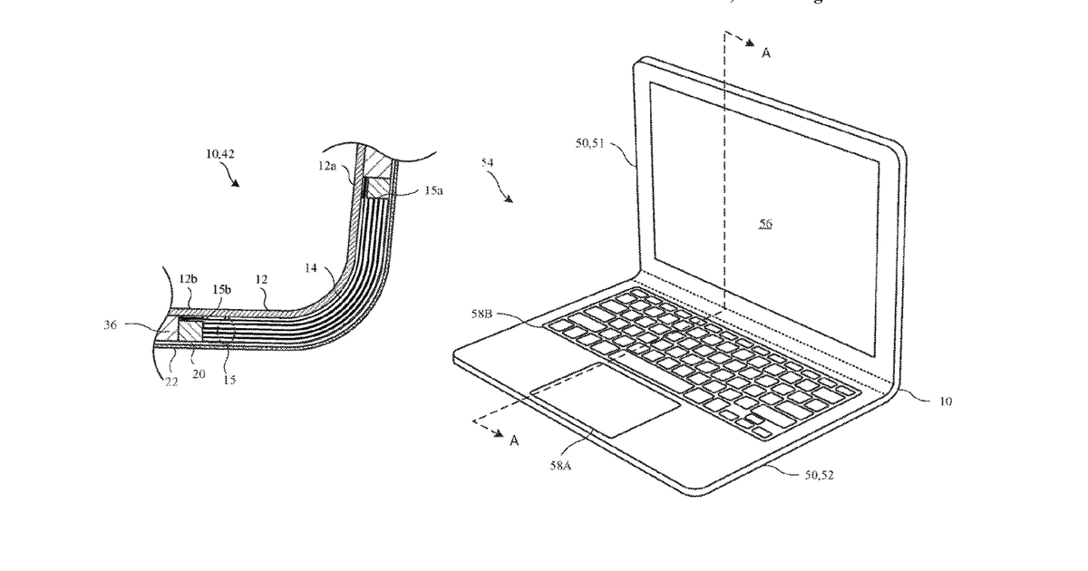 Apple Patents Suggest Company Doubling Down on Bendable Designs