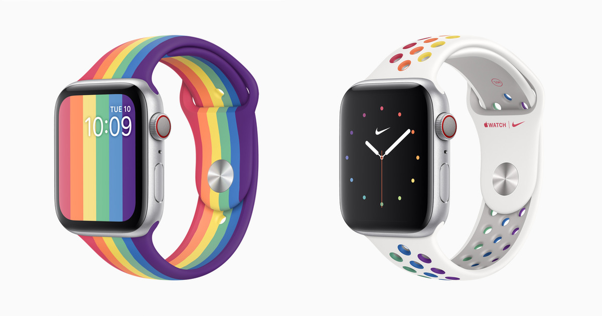 Apple Watch Pride Bands 2020