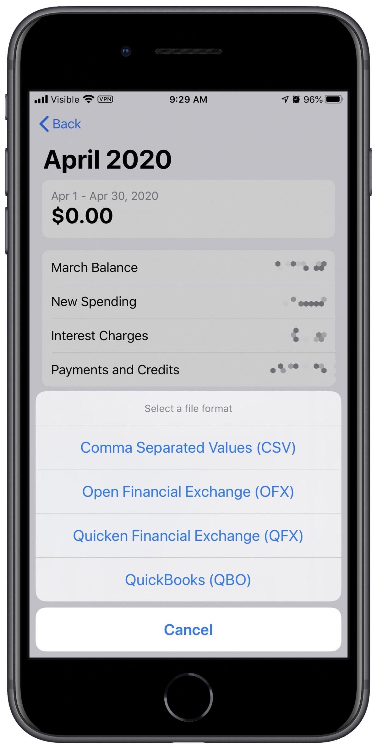Export Apple Card transactions quicken Export Apple Card transactions quicken And QuickBooks