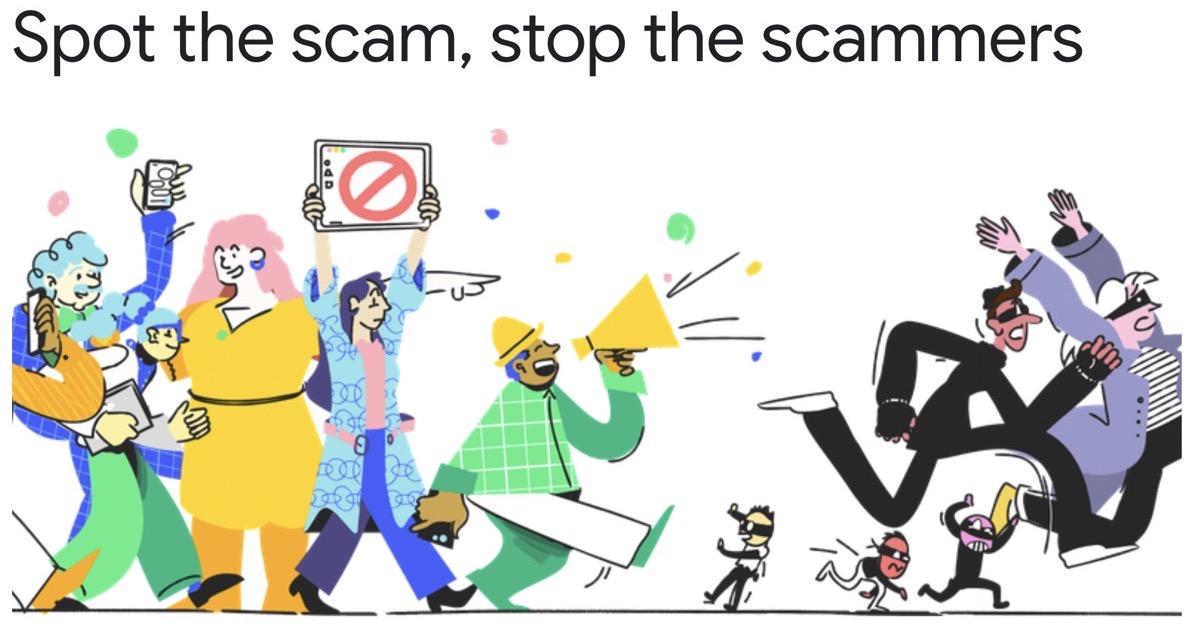 Google scam spotter