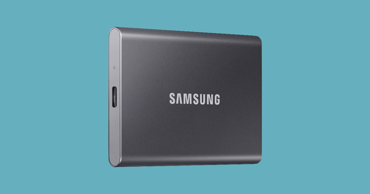 Samsung T7 SSD Drive Out Today Starting at $109