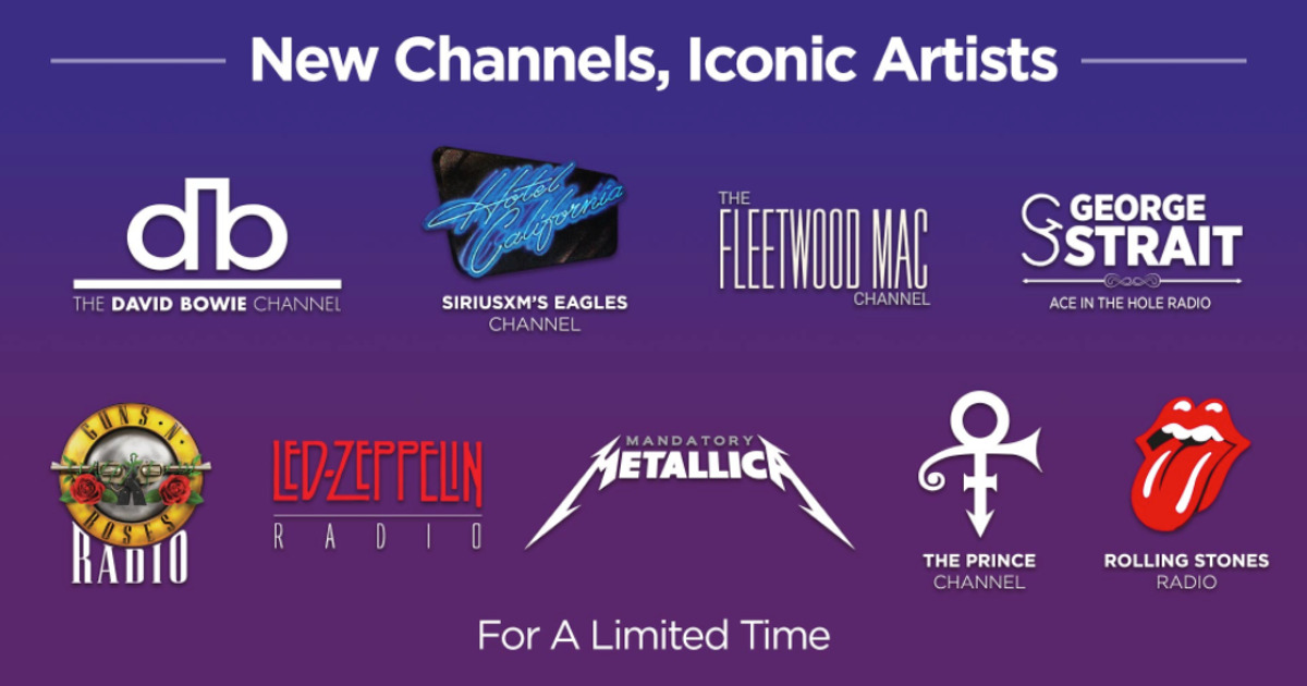SiriusXM Launches Prince and Other Dedicated Artist Channels