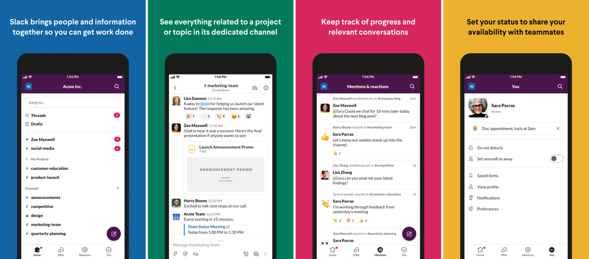 Slack Update Redesigns Mobile UI With Bottom Bar
