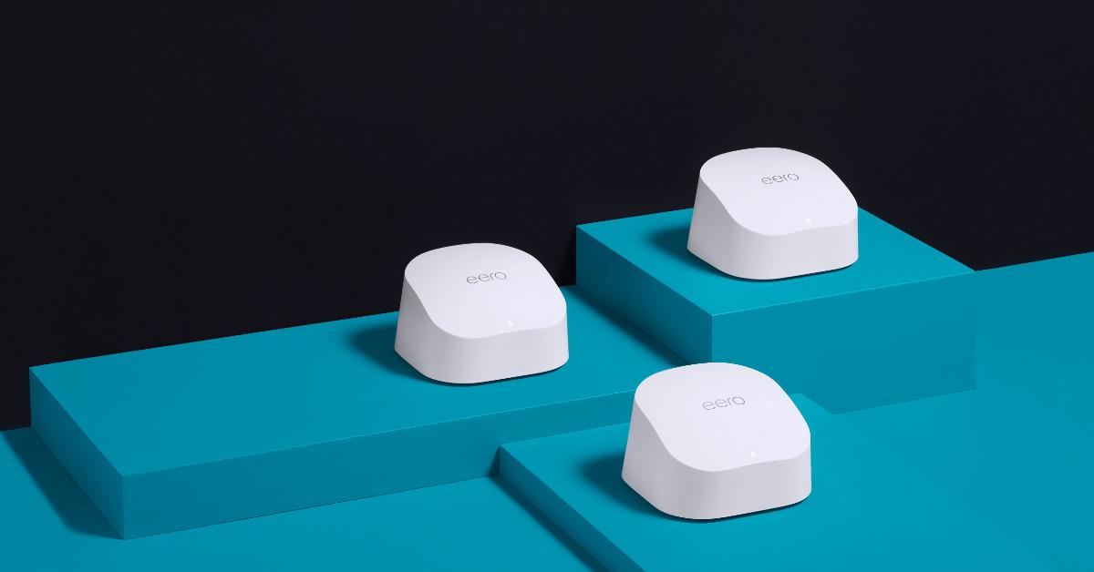 eero Pro 6 with Wi-Fi 6