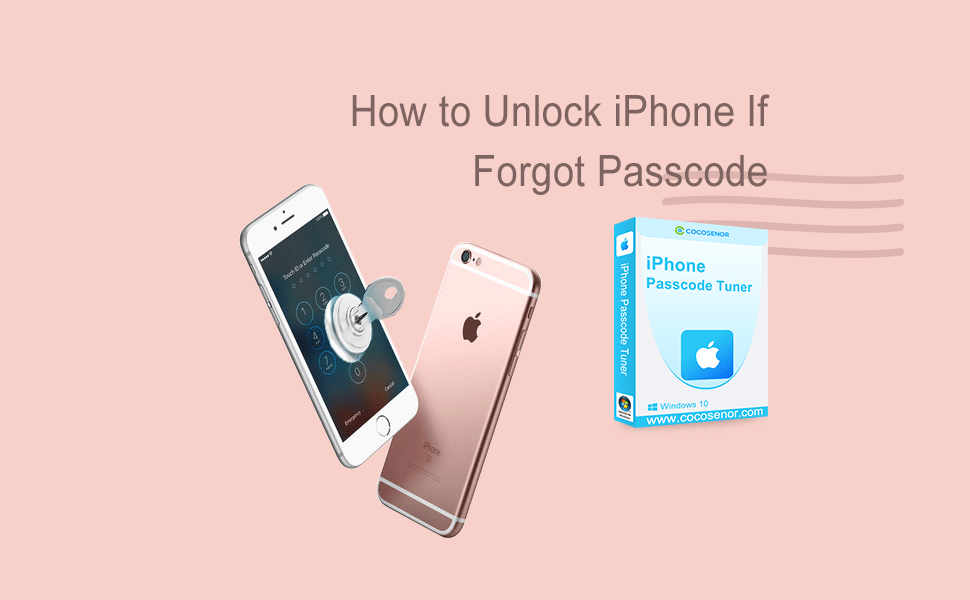 iPhone with Key and unlocks
