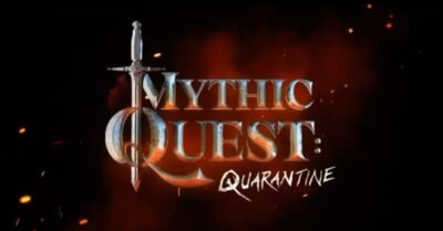 Mythic Quest Quarantine Logo