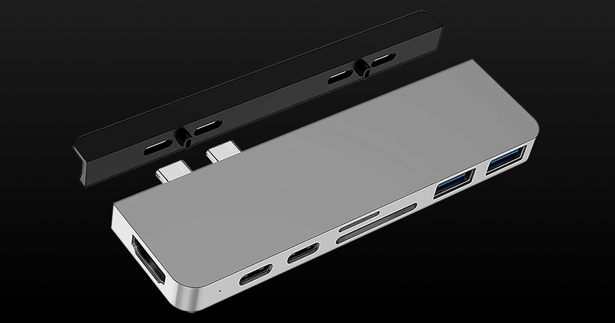 Sanho Corporation Reveals HyperDrive DUO USB-C Hub for MacBooks