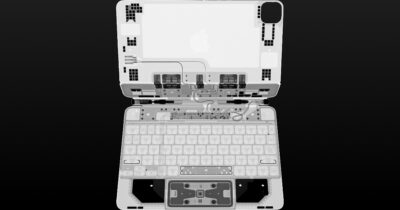 iPad pro magic keyboard X-ray