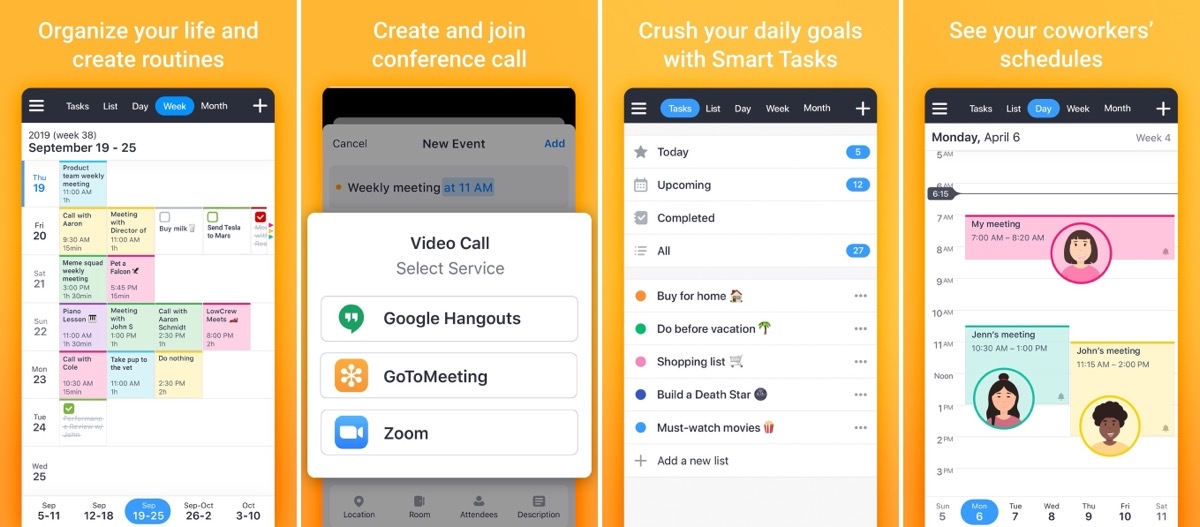 Calendars by Readdle Integrates With Zoom, Hangouts, GoToMeeting