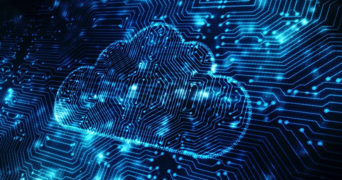 Generic cloud computing image.
