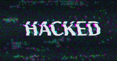 Generic image displaying the word hacked.