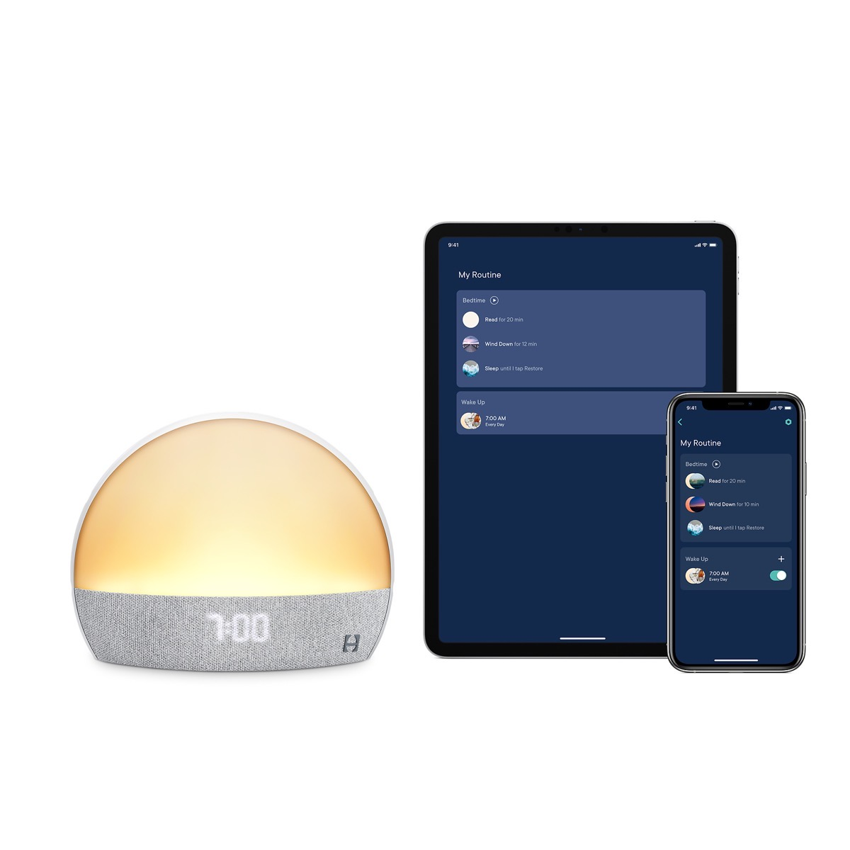 Hatch restore sleep device app