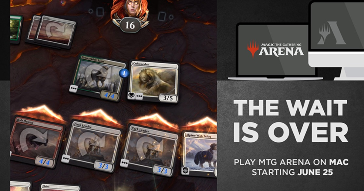 Starting Today Get 'Magic: The Gathering Arena' on Mac