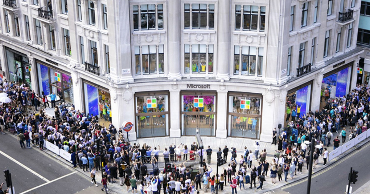 Microsoft to Permanently Close Retail Locations