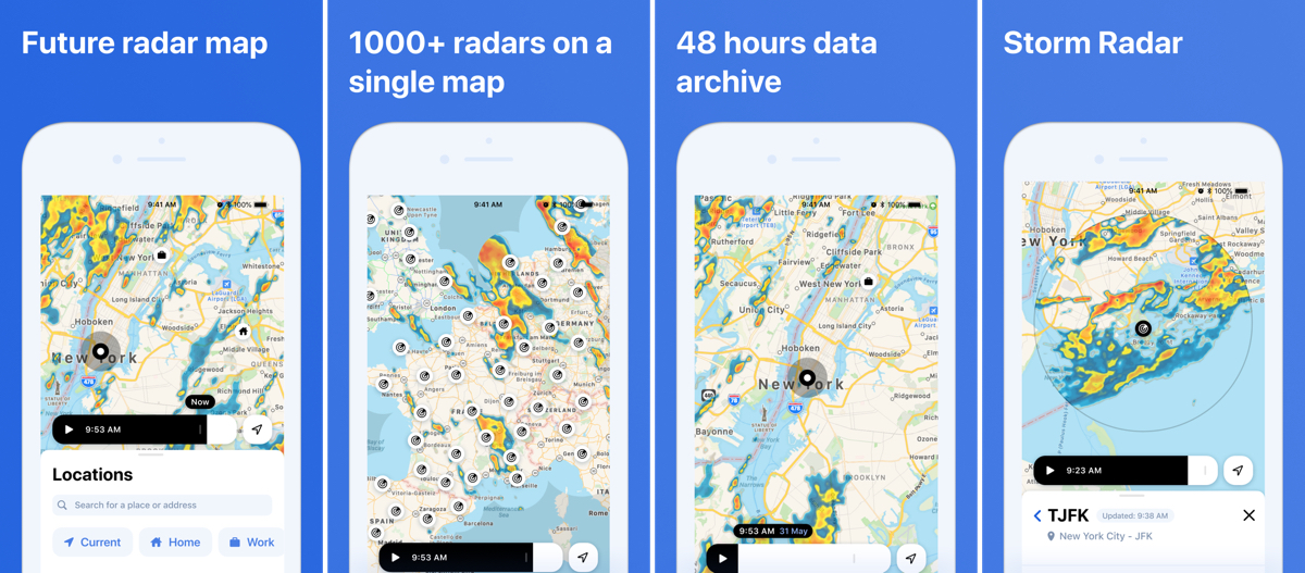 'Rainviewer' 2.0 Update Gives You a Future Radar Map