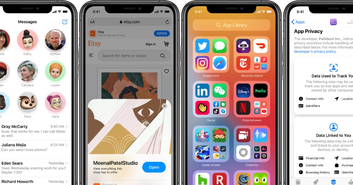 Image showing iOS 14 features