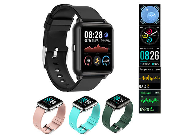 OXITEMP Smart Watch with Live Oximeter: $49.95