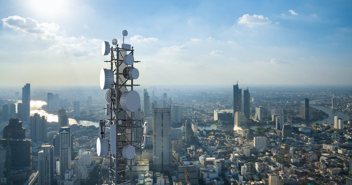 5G antenna tower