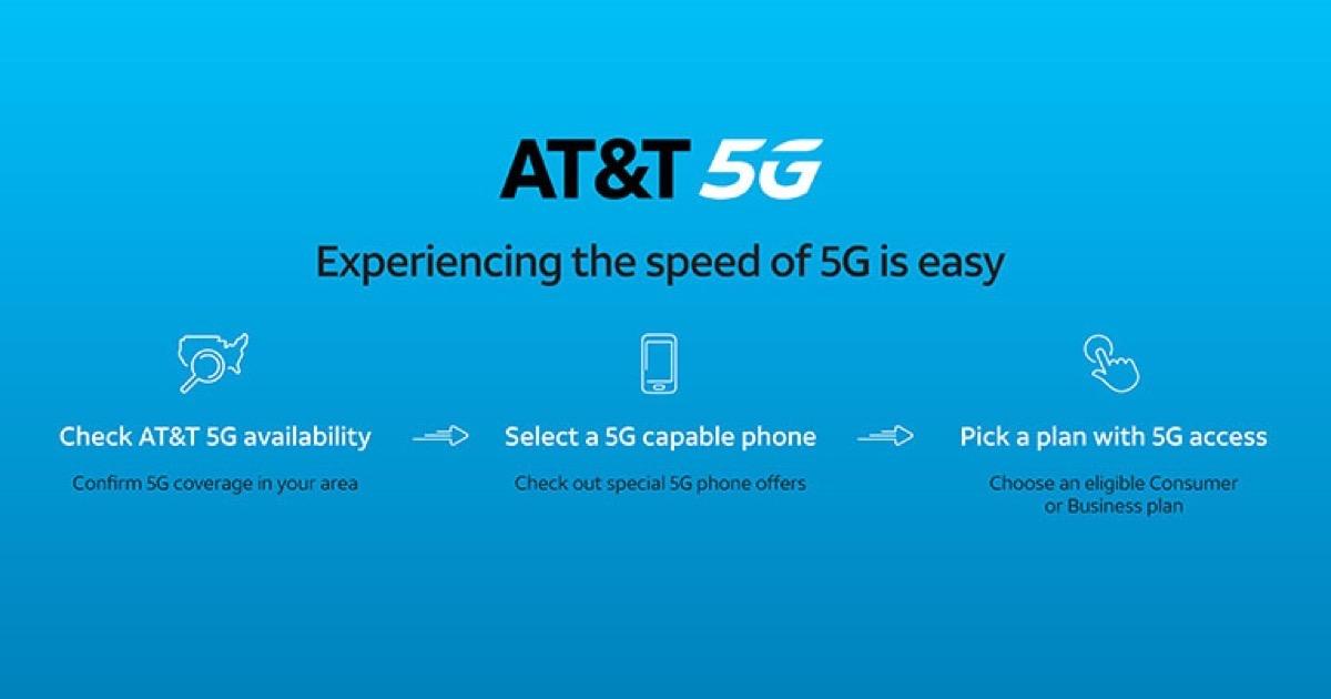 AT&T 5g header