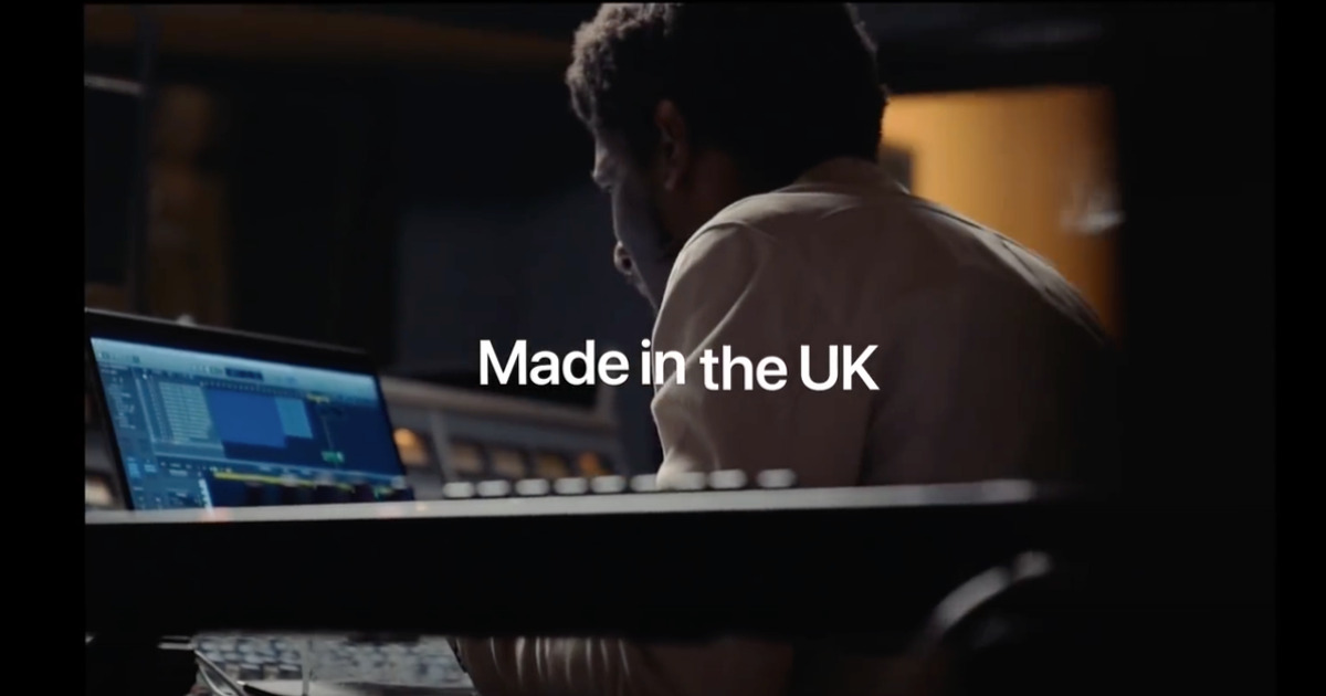 Apple Made in the UK advert