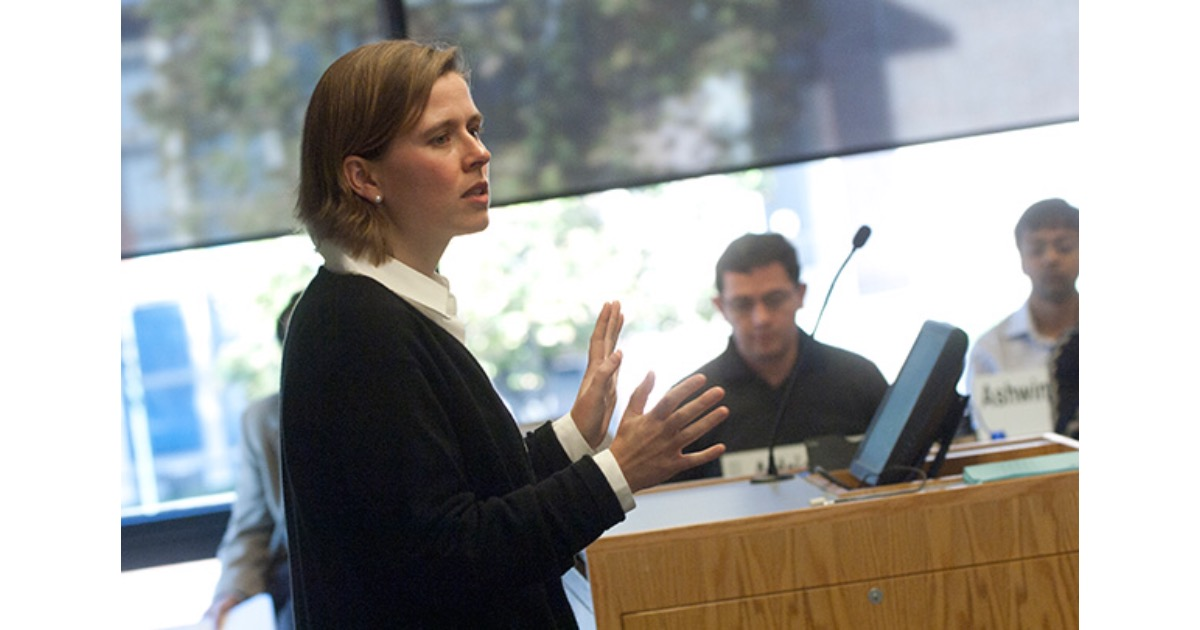 Professor Fiona Scott Morton at Yale