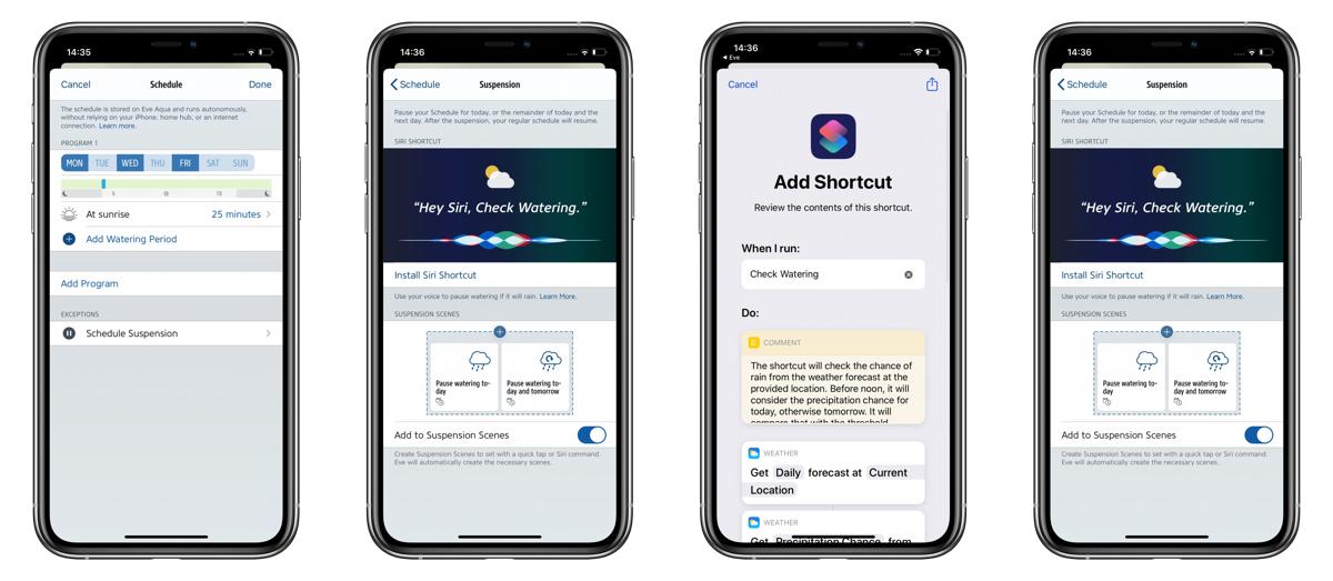 'Eve for HomeKit' 4.4 Update Adds Smart Schedule Suspension