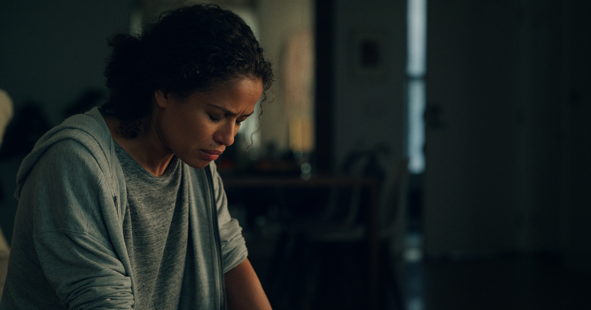 Gugu Mbatha-Raw as 'Hannah' in The Morning Show