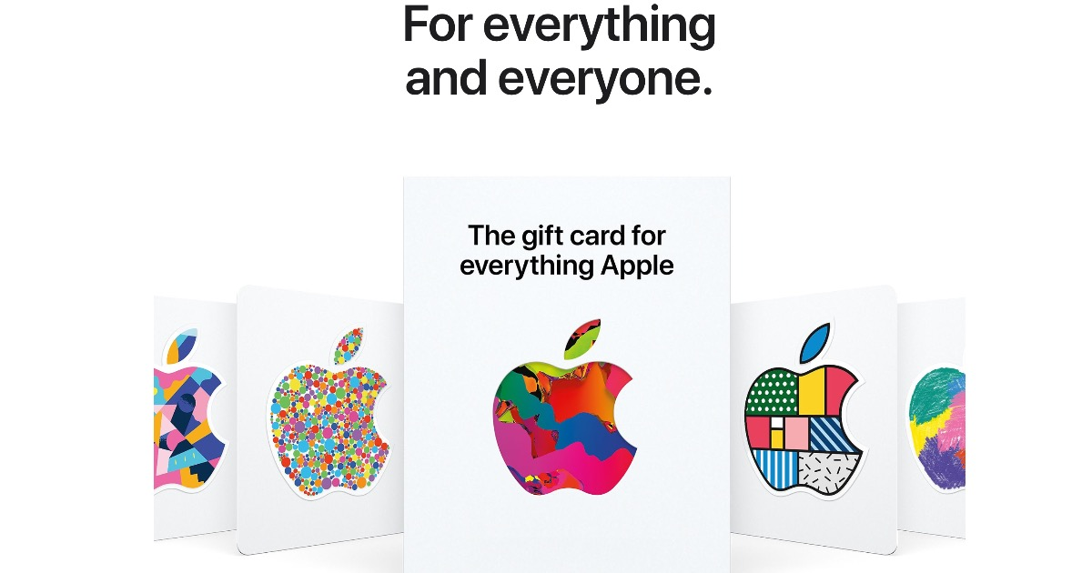 Everything Apple Gift Card