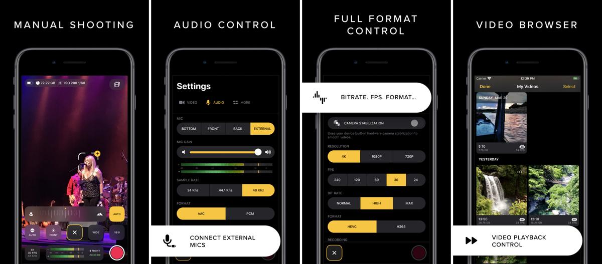 LateNiteSoft Introduces 'REC' Pro Video Camera App