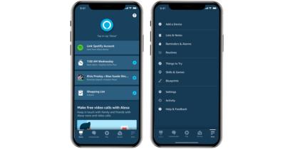 New Alexa App for mobile