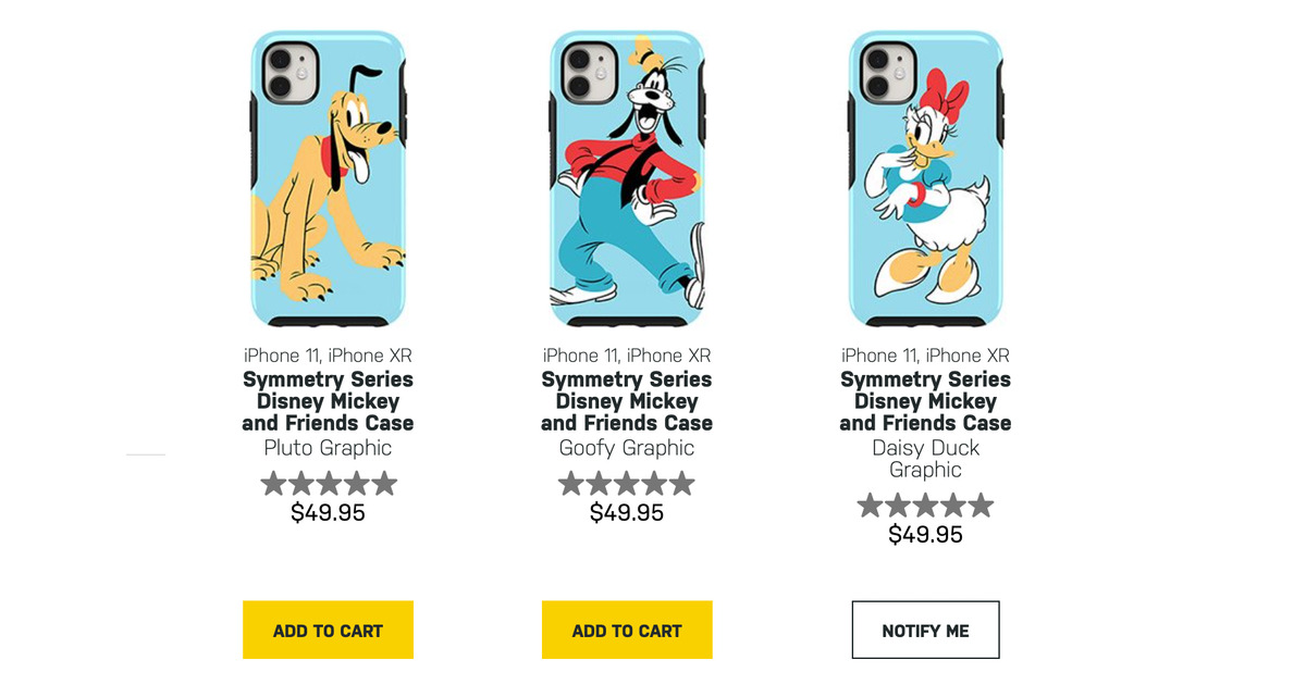 New Disney iPhone Cases From OtterBox