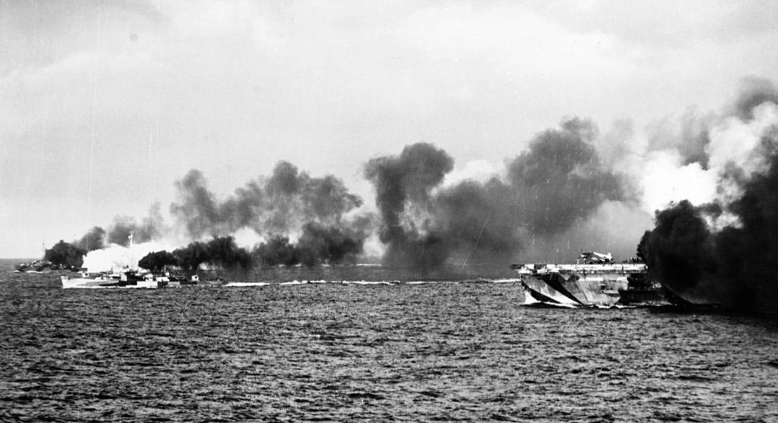 Battle off Samar, Oct 1942