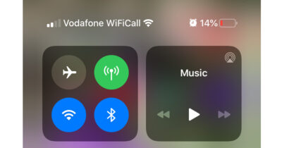 Show battery percentage iphone xr