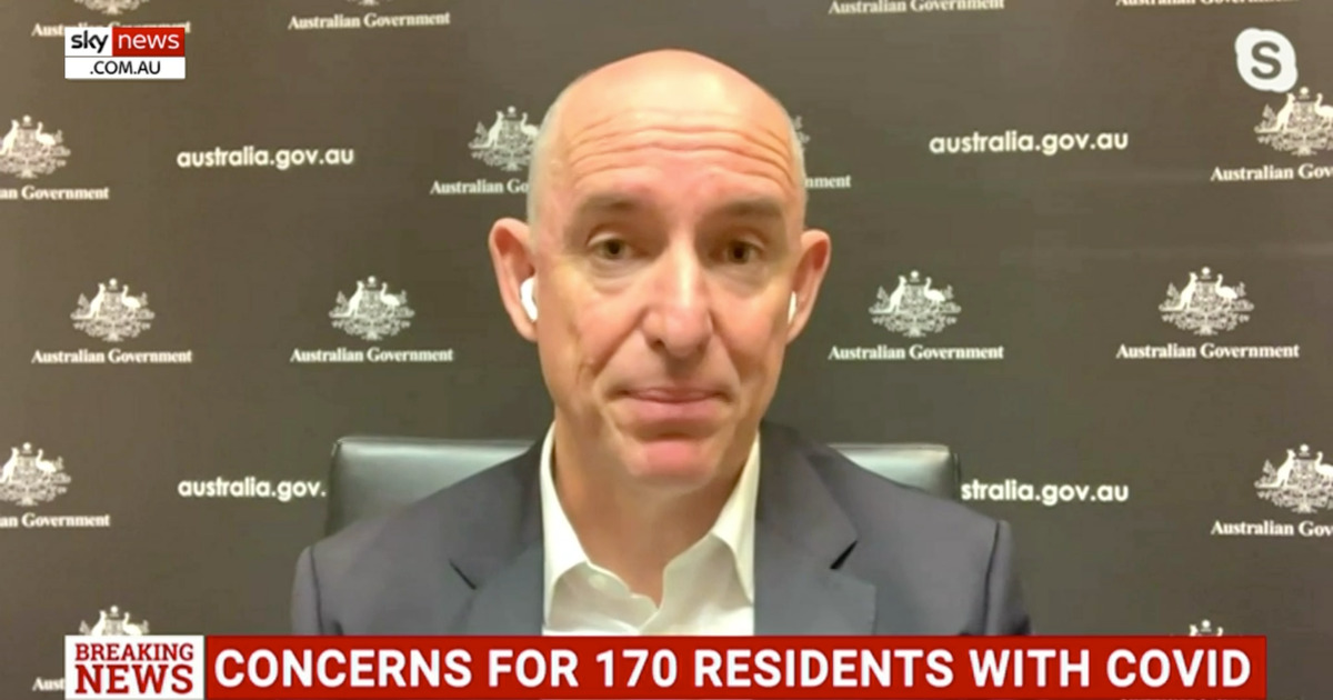 Australian Minister Stuart Robert discussing COVID-19 contact tracing app in a TV interview
