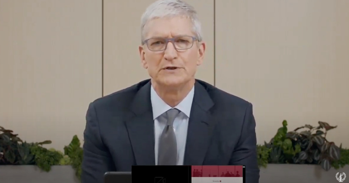 Tim Cook at antitrust hearing