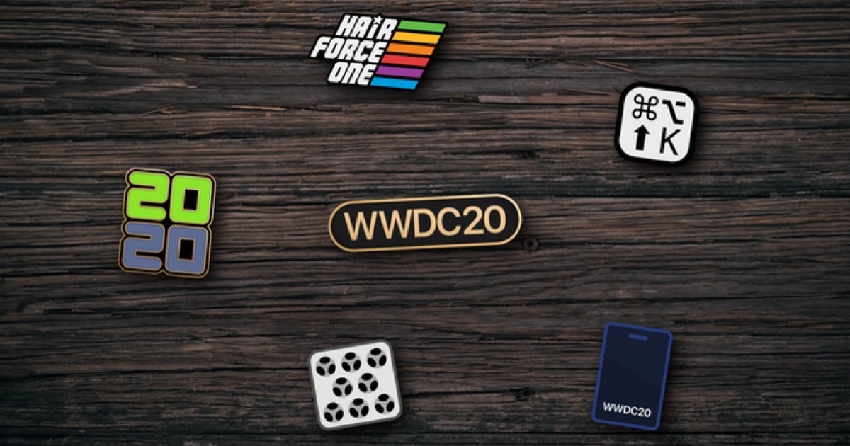 Get Your Unofficial WWDC 2020 Pins on Kickstarter