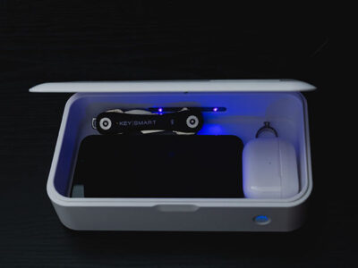 CleanTray UV Light Sterilization Case