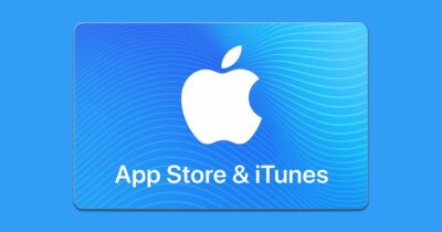 Image of iTunes gift card