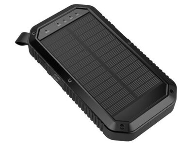 Sun Chaser 20,000mAh Solar-Powered Wireless Phone Charger