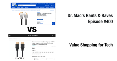 Dr. Mac's tips for shopping for tech gear