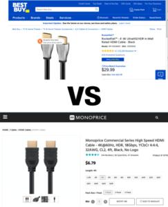 Hmmm .... 29,99 $ oder 6,79 $?