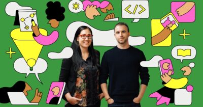 Maxeme Tuchman and Alvaro Sabido of the Caribu app